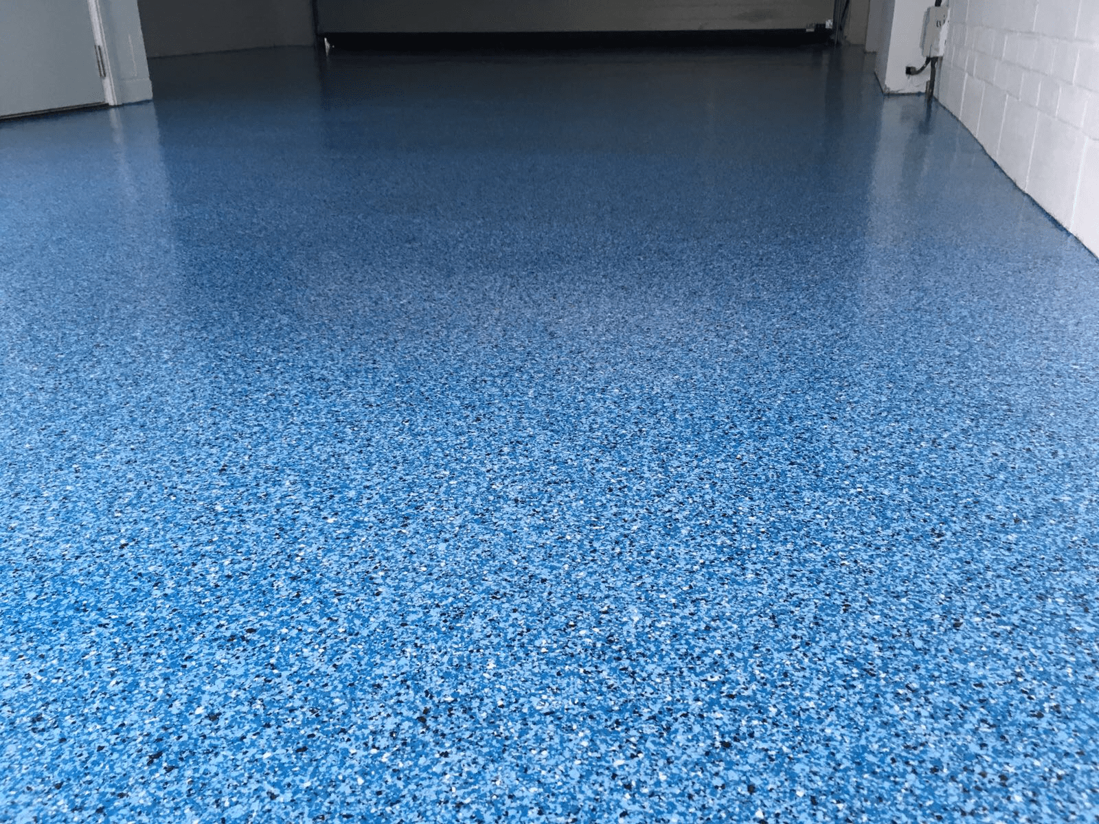 Garage Resin Floor - Monarch resin flooring