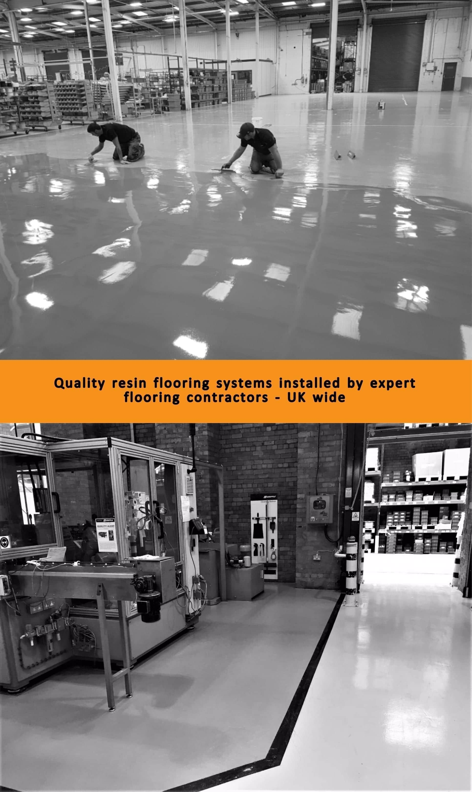 speciliat services - resin flooring contractors uk - monarch